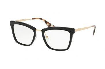 d44b55da30403 Prada PR15UV Eyeglass Frames KUI1O1-52 - Black Frame