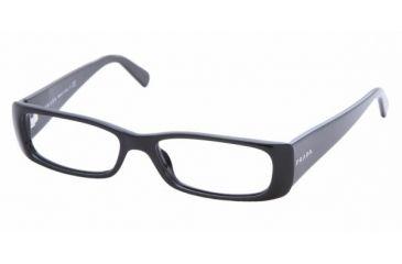 Prada PR17LV #1AB1O1 - Gloss Black Frame