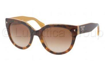 Prada PR17OS Progressive Prescription Sunglasses PR17OS-FAL1Z1-5422 - Lens Diameter 54 mm, Frame Color Top Light Havana/Opal