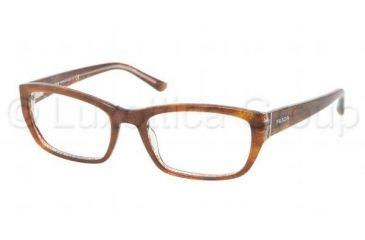 Prada PR18OV Bifocal Prescription Eyeglasses BF41O1-5218 - , Demo Lens Lenses
