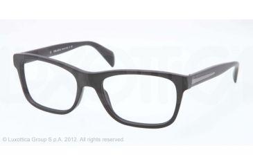 Prada PR19PV Bifocal Prescription Eyeglasses 1BO1O1-53 - Matte Black Frame