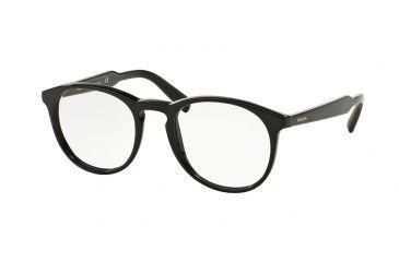 791ba467d6 Prada PR19SVF Eyeglass Frames 1AB1O1-50 - Black Frame