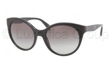 Prada PR23OS Progressive Prescription Sunglasses PR23OS-1AB3M1-5620 - Frame Color Black, Lens Diameter 56 mm