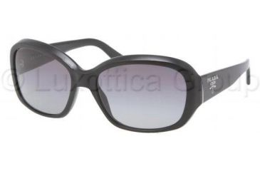 Prada PR31NS Progressive Prescription Sunglasses PR31NS-1AB3M1-5816 - Lens Diameter 58 mm, Frame Color Gloss Black