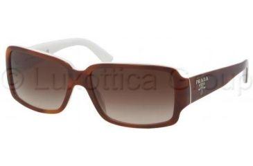 512ee3951d8d2 ... good prada pr32ns sunglasses acn6s1 5715 top havana ivory frame brown  gradient lenses 94ded a5399
