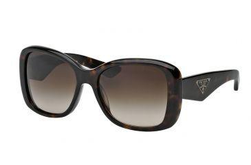 7335b99d8fe3b Prada PR32PS Single Vision Prescription Sunglasses PR32PS-2AU6S1-57 - Lens  Diameter 57 mm