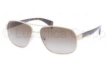 b67ad794fd Prada PR52PS Sunglasses ZVN1X1-6115 - Pale Gold Frame