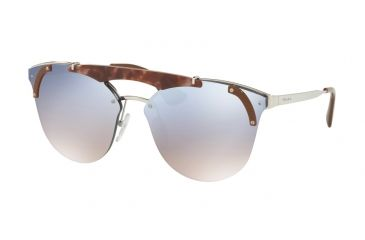 ab8c8c8518 Prada PR53US Sunglasses C135R0-42 - Silver pink Havana brown Frame