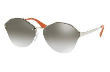0ee80ca8a29c Prada PR64TS Sunglasses 1BC4S1-66 - Silver Frame
