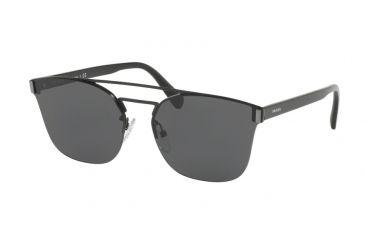 d33e83cbe8aa Prada PR67TS Sunglasses 1AB5S0-63 - Black Frame