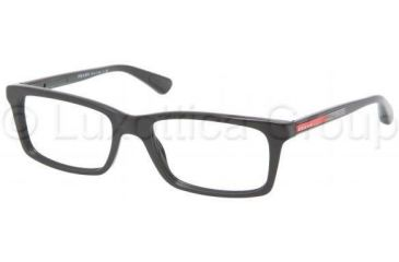 Prada PS02CV Progressive Prescription Eyeglasses 1BO1O1-5317 -