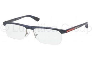 Prada PS04CV Progressive Prescription Eyeglasses 7YO1O1-5316 - Gunmetal Frame