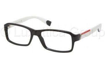 Prada PS05CV Eyeglass Frames 1AB1O1-5417 - Black Frame