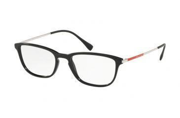 71ee5ea8bfee Prada PS05IV Eyeglass Frames 1AB1O1-54 - Black Frame