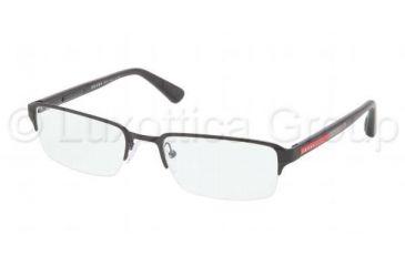 Prada PS51DV Bifocal Prescription Eyeglasses 7AX1O1-5419 - Black Frame
