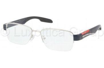 Prada PS55CV Eyeglass Frames 1BC1O1-5217 - Silver Frame