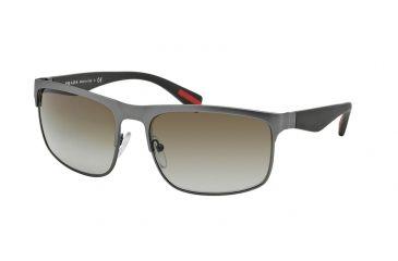 2b31ea802e998 Prada RUBBERMAX PS56PS Sunglasses DG11X1-60 - Gunmetal Rubber Frame