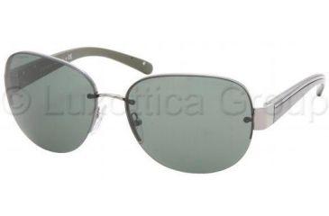 f251752f0d Prada Sunglasses PR60LS 5AV3O1-6115 - Gunmetal Green