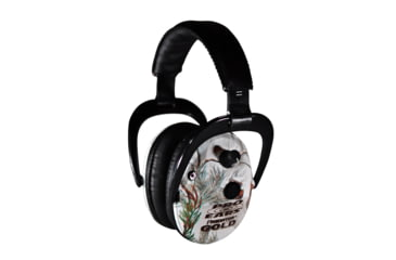 Pro Ears Predator Gold Hearing Protection Headset, Snow Camo