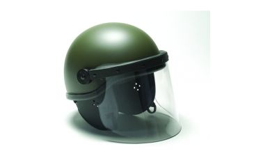 Premier Crown Corp Epr Riot Duty Helmet, Od Green - 90033