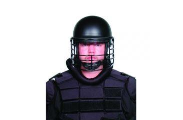 Premier Crown Corp Epr Riot Helmet Black Wire Face - 9005C