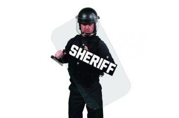 Premier Crown Corp Riot Shield - Sheriff Decal - 4100S