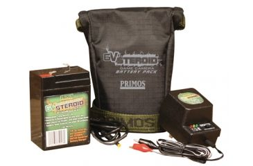 Primos 6v Steroid Battery And Charger Combo For Truth Cams