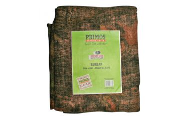 1-Primos Burlap Material Pre-Cut 12 Feet Long and 54 Inches Wide Mossy Oak New Break Up Camouflage Pattern 6372