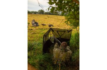 2-Primos Hunting Double Bull Stakeout Blind w/ Surroundview