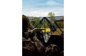 4-Primos Hunting Double Bull Stakeout Blind w/ Surroundview