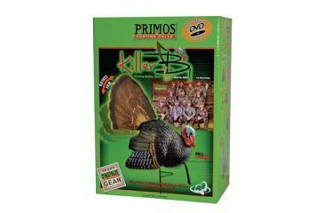 Primos Killer B Turkey Decoy System With Carrying Bag and Instructional DVD 69021