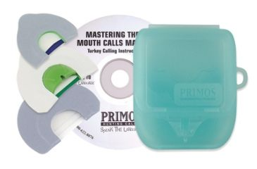 Primos Mastering The Art Mouth Calls Made Easy Instructional CD With Three Turkey Calls 1215