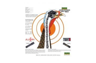 Primos Hunting Shotgun Pattering Turkey Target - 12 Targets 6041