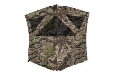 Primos The Club Ground Blind Ground Swat Grey Camouflage
