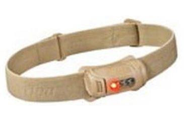 Princeton Tec Fred Tactical MPLS 45 Lu. Headlamp, Tan FRED-NOD-TAN