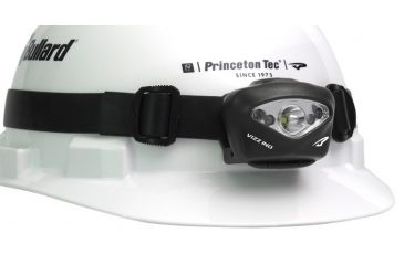Princeton Tec Vizz Headlamp - Spot, Flood, Red Low Light, Black, Industrial, 165 Lumens, 150 hr. Burn Time VIZZ-IND