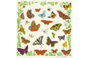 Printed Image National Park-Nature Collection Bandana, Butterflies 511527