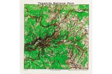 Printed Image National Park-Nature Collection Bandana, Rocky Mountain Topo 511576