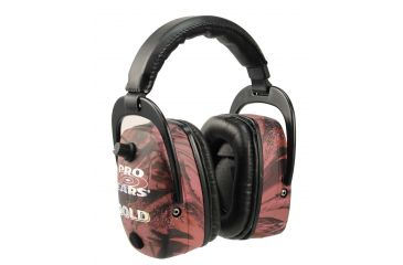 Pro ears Mag Gold Pink Camo Hearing Protection Headsets DPM-PINK-CAMO
