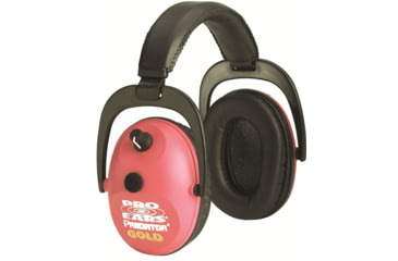 Pro-Ears Predator Gold Shooting Hearing Protection NRR 26 Headset, Pink