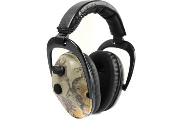 Pro Ears Pro 300 Wind Abatement Hearing Protection NRR 26dB Headset, Natural Gear Camo