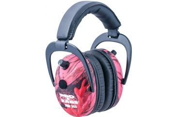 Pro Ears Pro 300 Wind Abatement Hearing Protection NRR 26dB Headset, Pink Camo