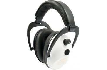 Pro Ears Pro 300 Wind Abatement Hearing Protection NRR 26dB Headset White