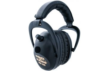 Pro Ears Pro 300 Wind Abatement NRR 26dB Headset, Black P300-B-Black