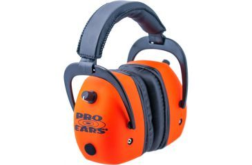 Pro-Ears Pro Mag Gold Hearing Protection Headset, Orange