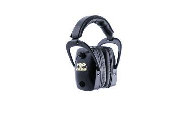 Pro-Ears Pro Slim Gold Electronic Earmuffs, Black