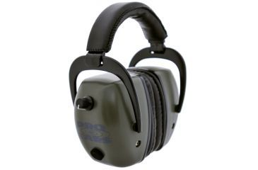 Pro Ears Pro Tac Mag Gold NRR 30 Hearing Protection Earmuffs, Green