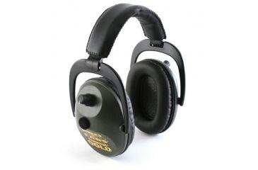 Pro-Ears Pro Tekt Plus Gold Electronic Earmuffs, Black