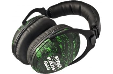Pro-Ears Revo 26 Passive Hearing Protection Earmuffs, Zombie Edition PE-26-U-Y-017