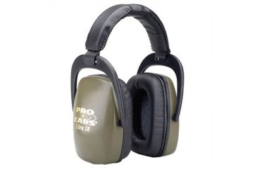 Pro-Ears Ultra Passive 28 Shooting Hearing Protection Headsets - Green
